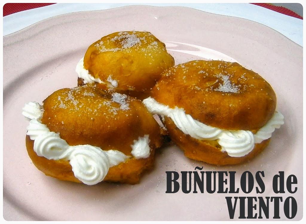 Buñuelos de Viento.
