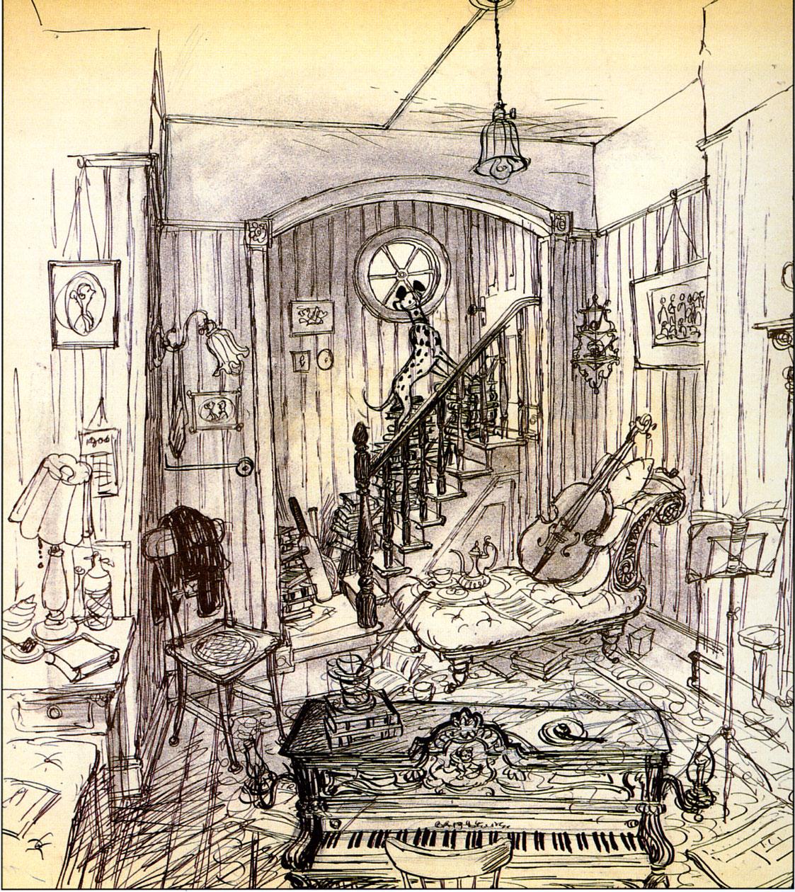deja view dalmatian art. Black Bedroom Furniture Sets. Home Design Ideas