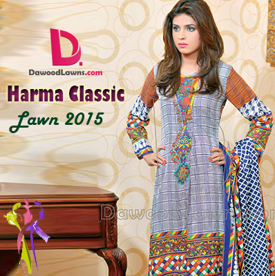 Dawood Classic Harma Lawn Collection 2015