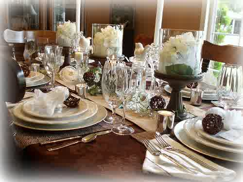 Bridal Shower Table Decorations Wedding Shower Decorating Ideas