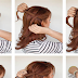 Waterfall Half Twist Hairstyle Tutorial