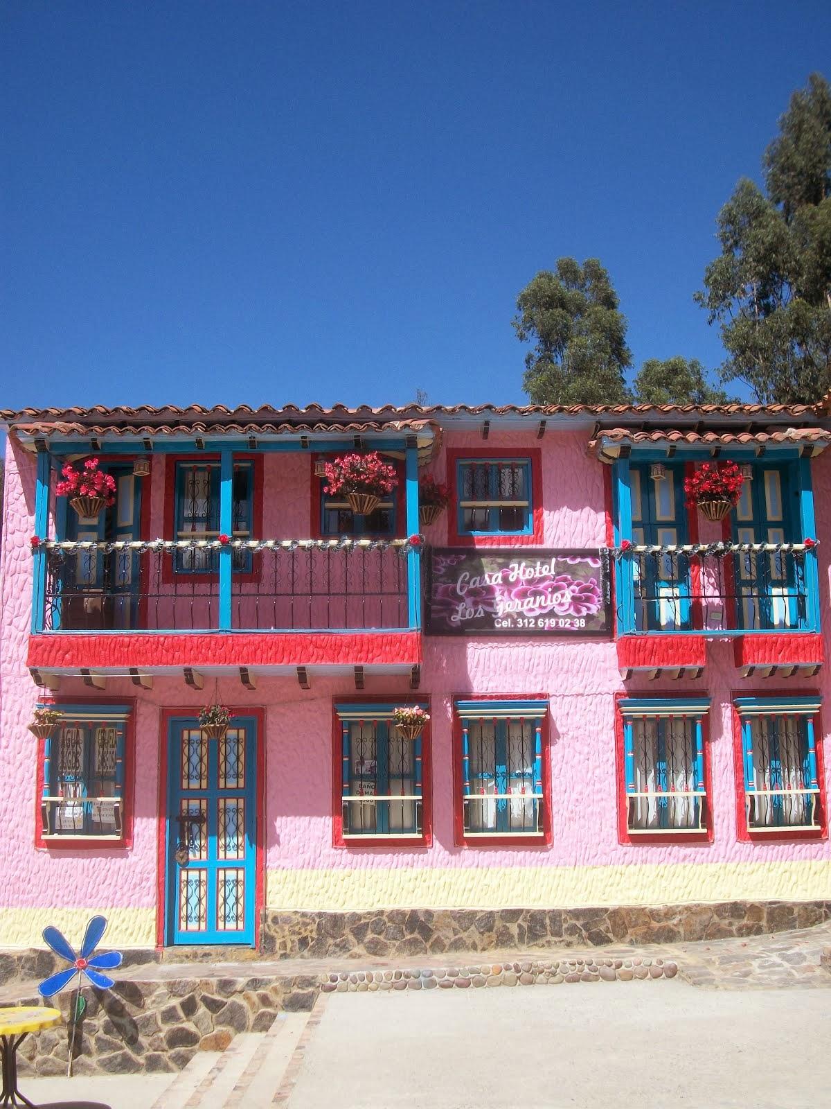 casa hotel los geranios