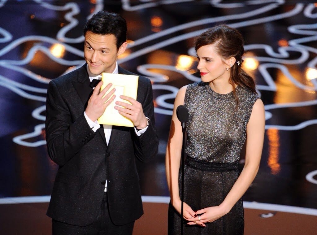 Joseph Gordon-Levitt's Montblanc cufflinks - 86th Annual Academy Awards