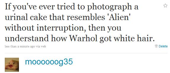 alien tweet