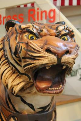 Tiger • Merry Go Round Museum • Sandusky, Ohio