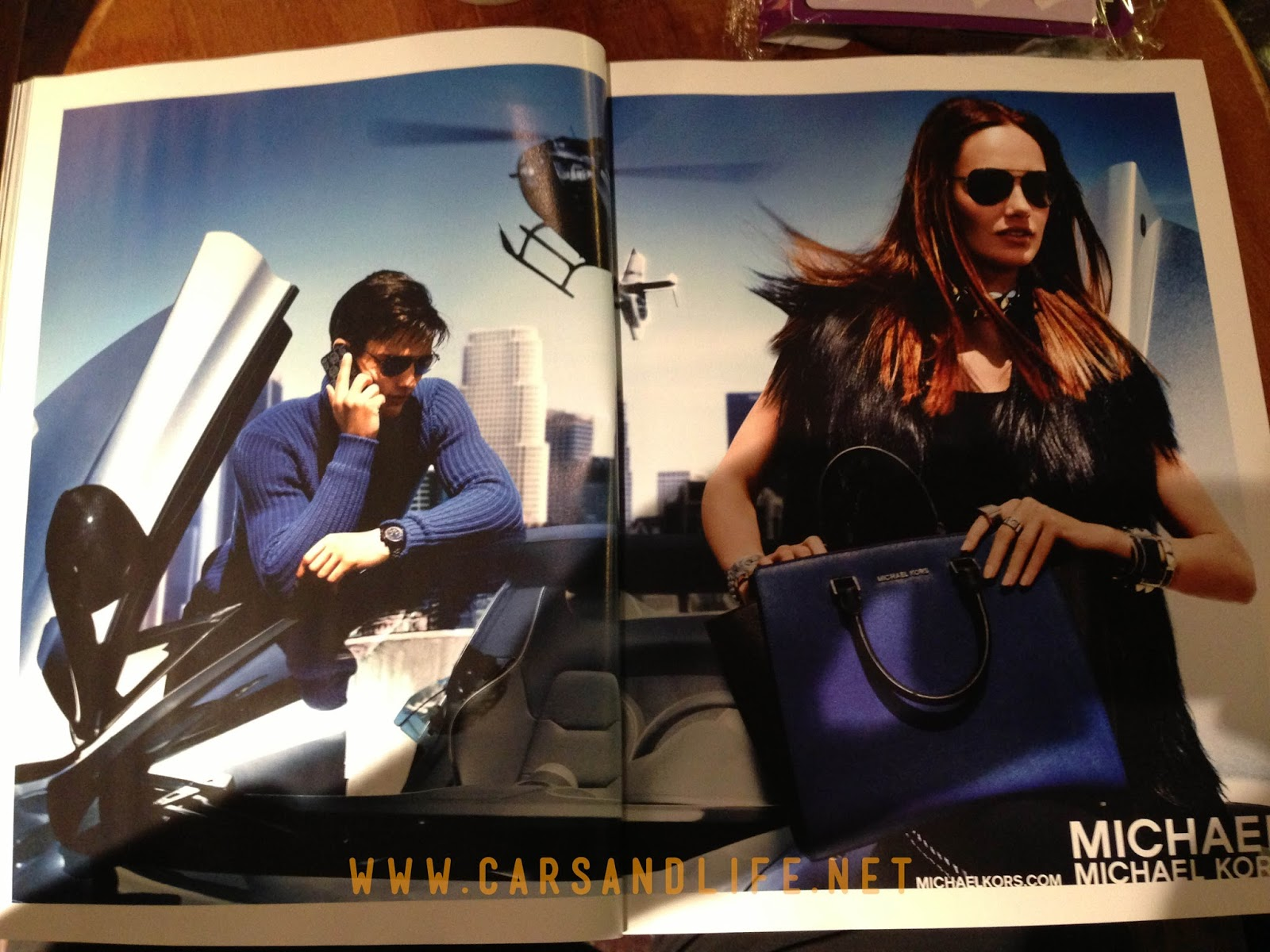 fashion designer michael kors l36d  Contemporary fashion designer Michael Kors recently published a new  advertisement on Elle, Vogue, Cosmopolitan and other fashion magazines