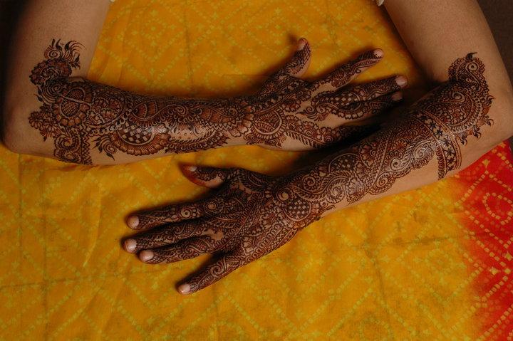 Mehndi Bridal Back Side : Mehndi styles for brides bridal wedding designs fashion