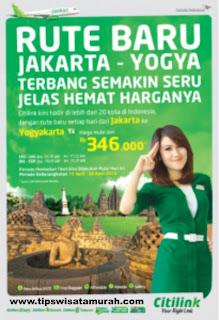 Citilink Rute Jakarta-Yogya