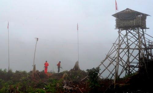 Tentara ditembak di Puncak Jaya