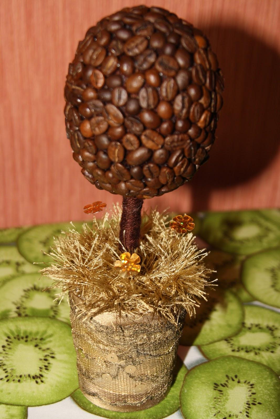 Денежное кофейное дерево своими руками