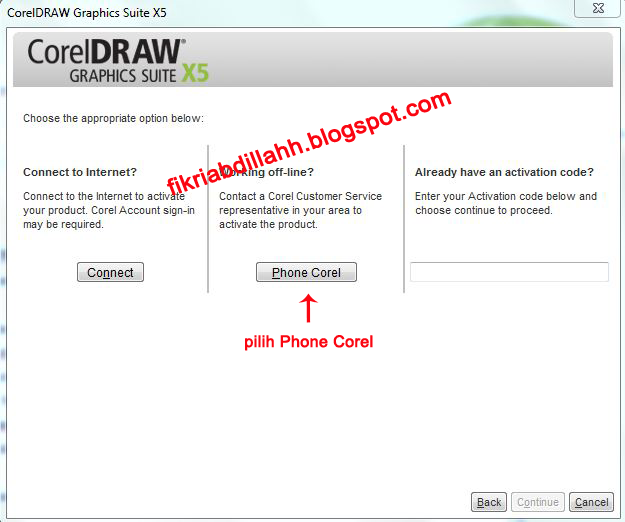 coreldraw x5 installation code free