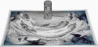 Jules Verne's Mysterious Island optical illusion