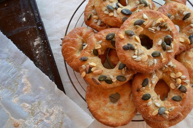 recette de bagels aux graines