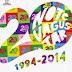 20 Años de no te va gustar en Teatro Metropólitan Sábado 04 Octubre 2014