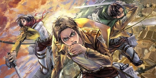 Shingeki no Kyojin Movie 1 : Guren no Yumiya, Actu Ciné, Cinéma, Wit Studio, Production IG,