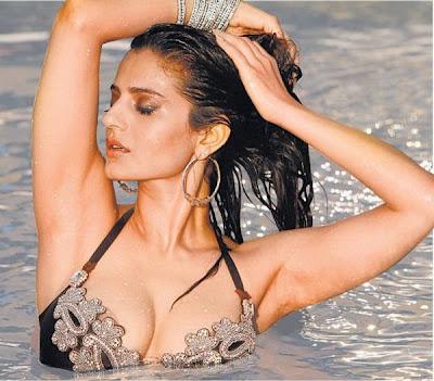 Amisha Patel Crystal Bikini