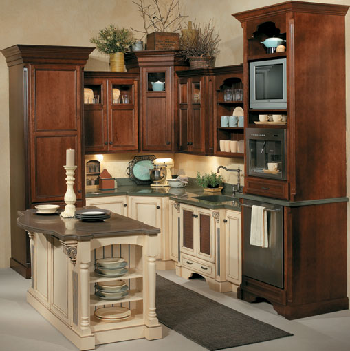 Brown Cabinet Kitchen Ideas: The Exciting Features Of Victorian Kitchen Cabinets To