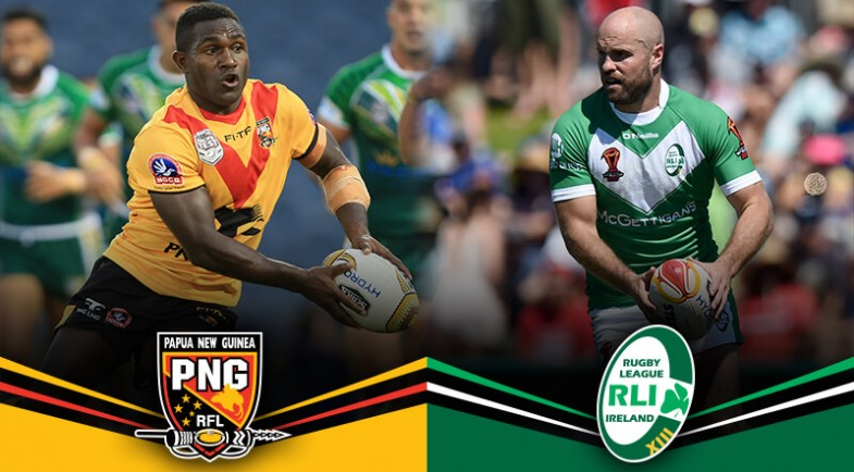 PNG fight off courageous Ireland in error-ridden, passionate RLWC clash