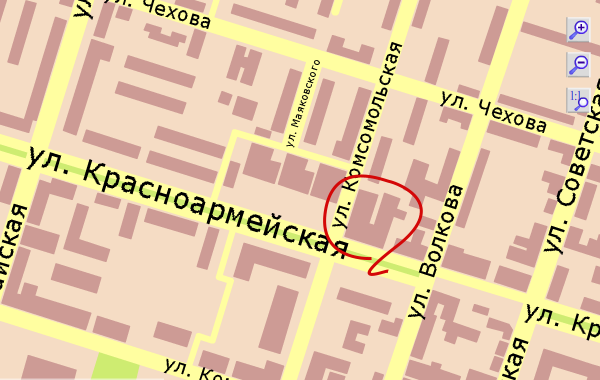 карта Йошкар-Олы от