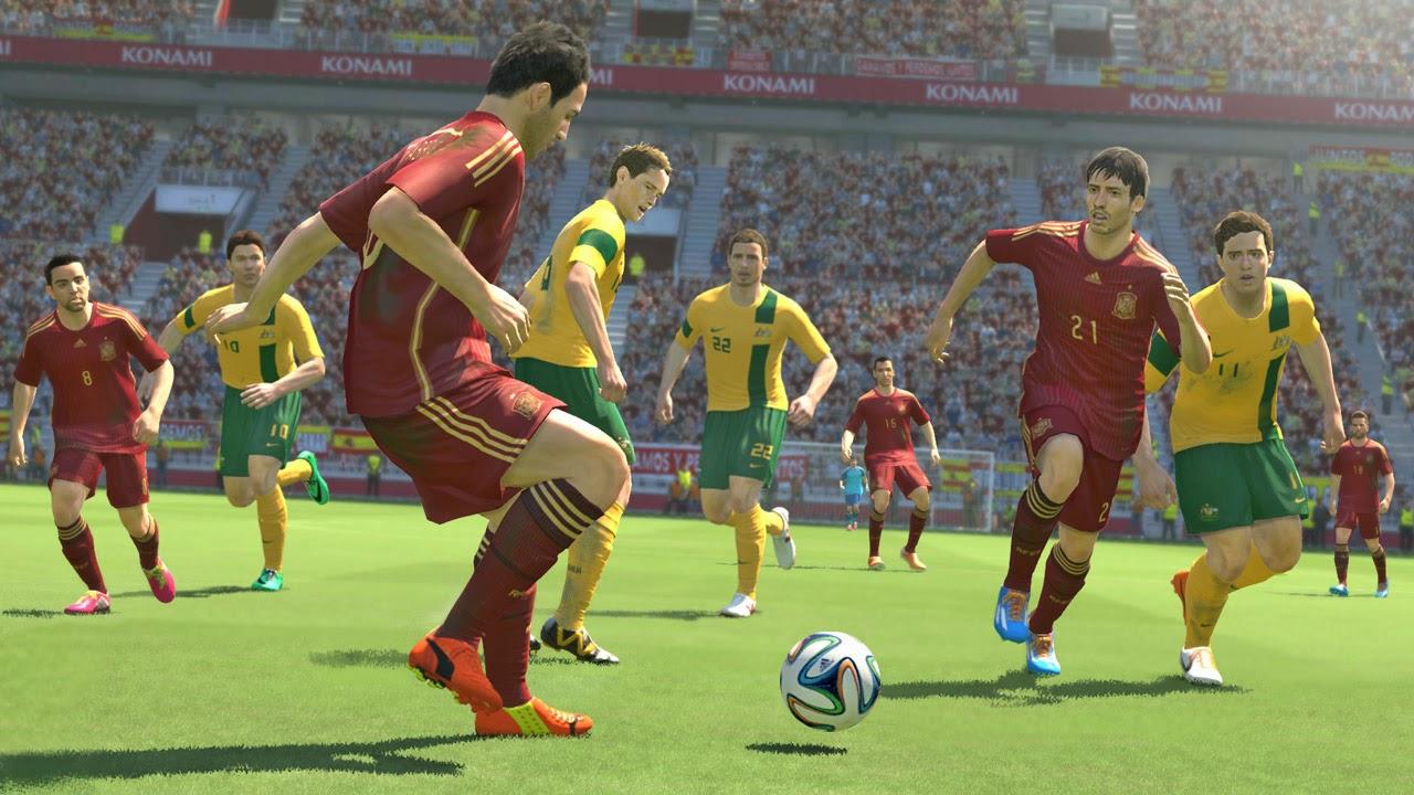 Pro Evolution Soccer 2014 world challenge screenshots