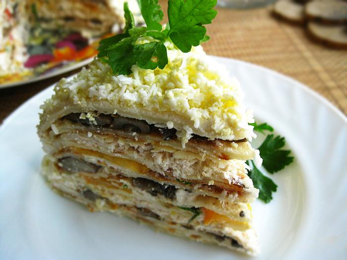 Селедочный торт рецепт