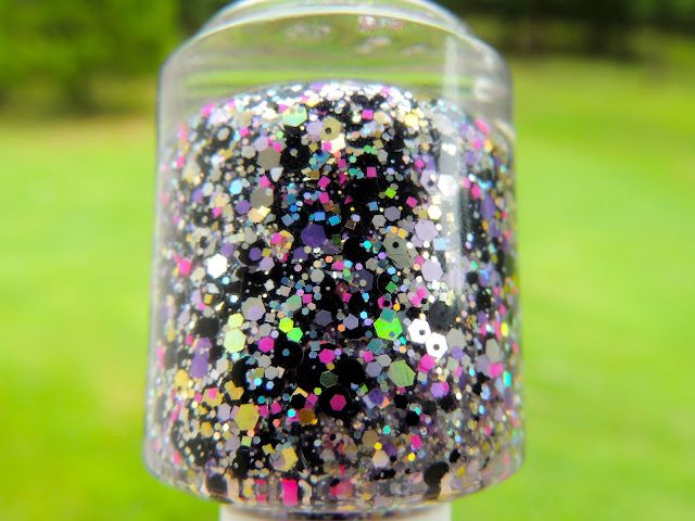 """Glitter Airbrushed"" Glitter Topper Nail Polish By Glitter Lambs"