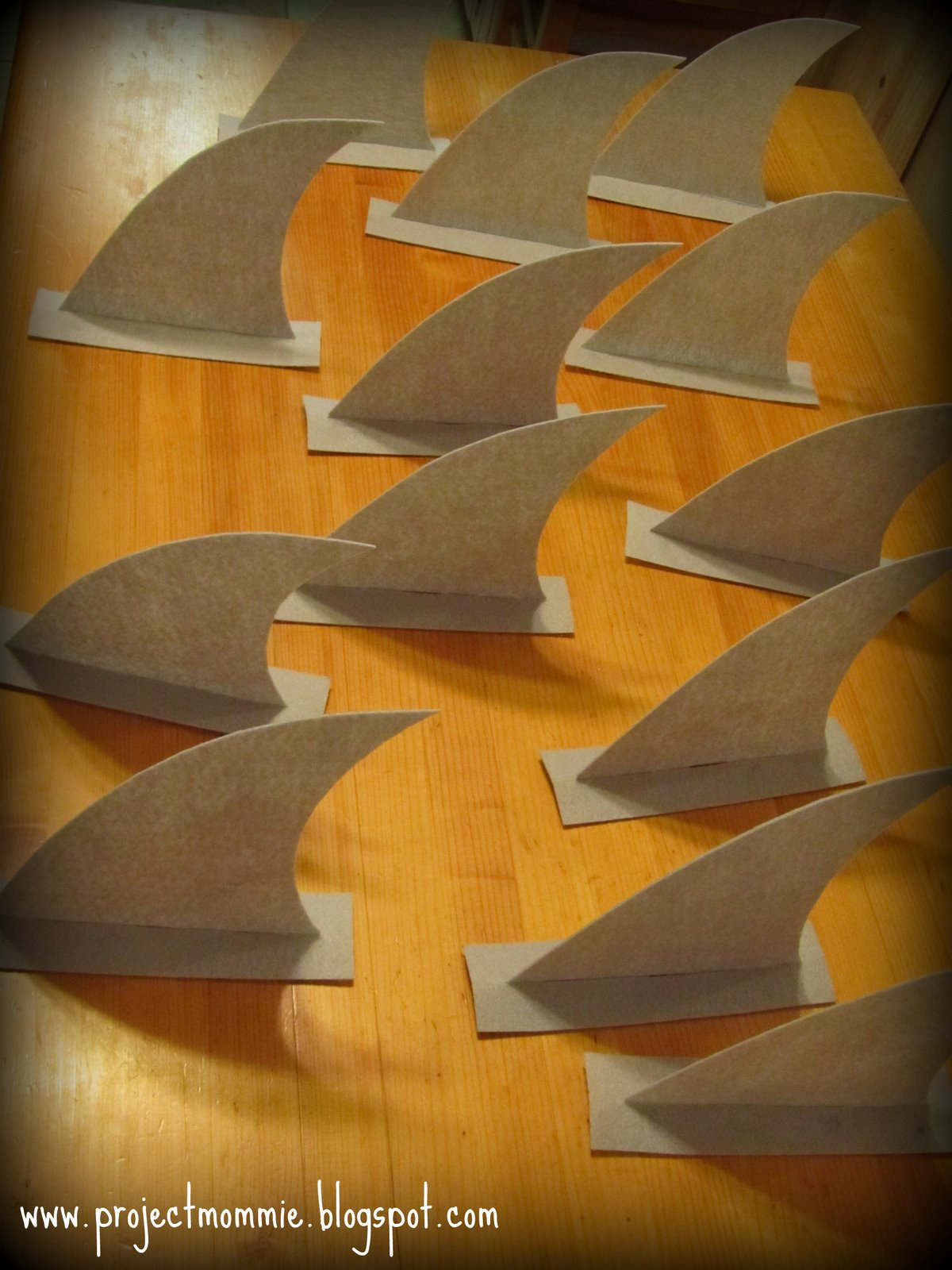 Project: Mommie: Planning a Shark Party