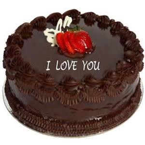 Tạo hình socola - chocolate I Love You