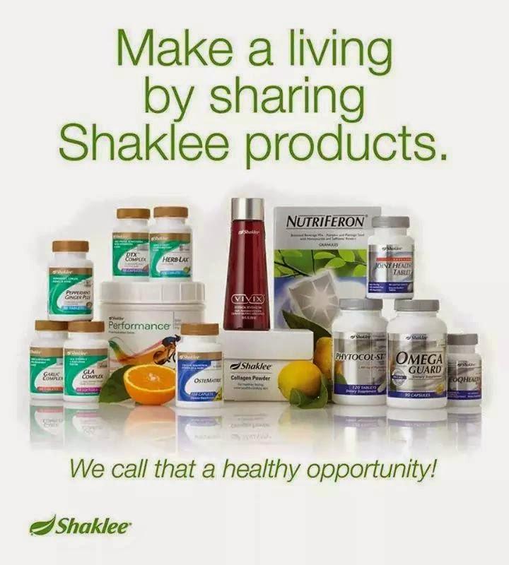 Vitamin Shaklee pilihan terbaik untuk semua