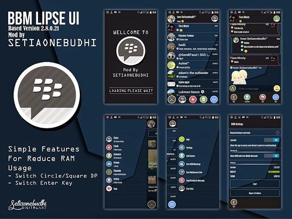 MOD BBM LIPSE UI