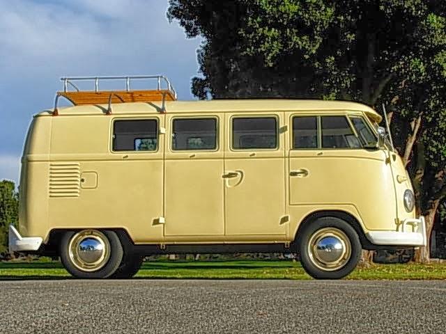 1960 Vw Camper Split Window Vw Bus