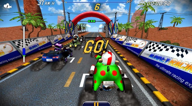Monkey Racing screenshot1