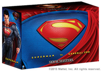Mattel Comic-Con SDCC 2013 Exclusive Man of Steel Superman vs Zod Figure Set