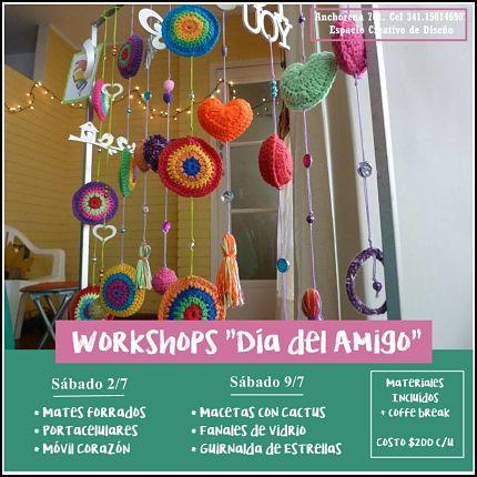 "Workshops ""DIA DEL AMIGO"""