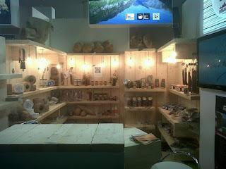 Once productors  Agroalimentaris  de l´Alta Ribagorça  compartim  estand a la Fira d´Alimentària a  Barcelona  del 26 al 29 DE Març  2012.
