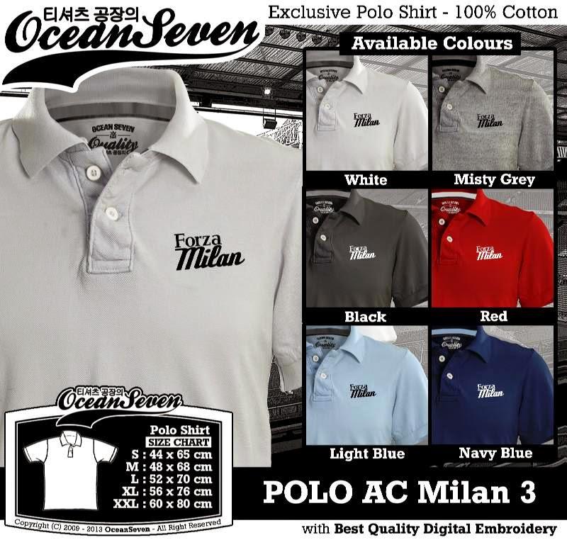 Kaos Polo AC Milan 3