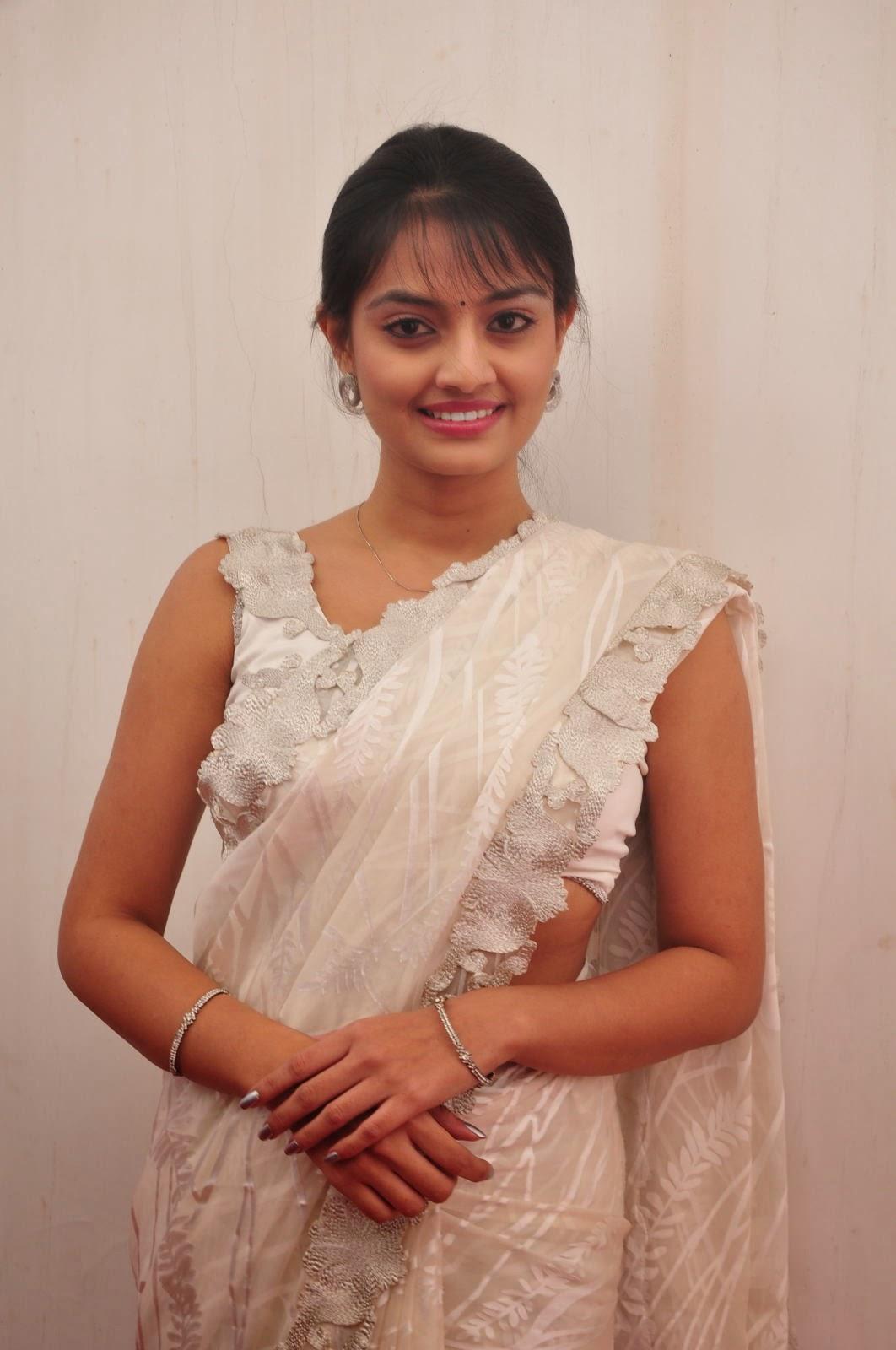 Nikitha Narayan saree photo shoot-HQ-Photo-10