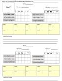 Registro evaluación diario