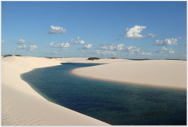 As belezas do Parque Nacional dos Lençóis Maranhenses