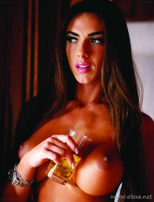 Famosas Nicole Bahls Nua Na Playboy