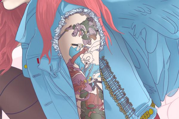 ilustraciones de tatuajes 15