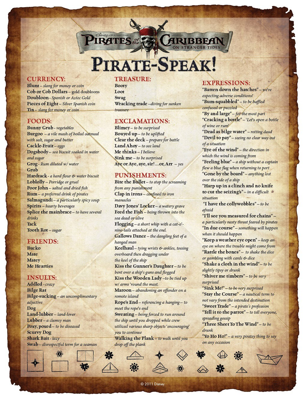 Pirate Phrases And Quotes Quotesgram