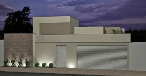 Ka de tudo um pouco modelos de casas muros e fachadas for Modelos fachadas para frente casa