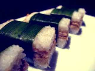 chiken stuffed glutinous rice (lemper) recipe