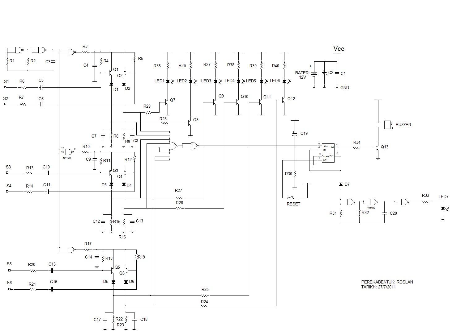 Projek Elektronik Litar Pic Atmel Microcontroller Rf Circuit Design Y Parameter Seperti Melakukan Yang Lain Kerja Ni Agak Leceh Sedikit Kena Buat Sensor Wiring Ujian Dan