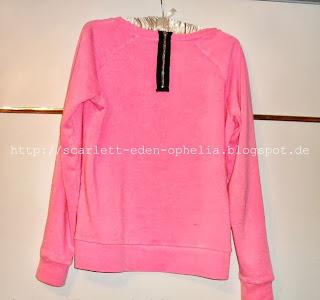Pinker Pulli von Tally Weijl - Neontrend