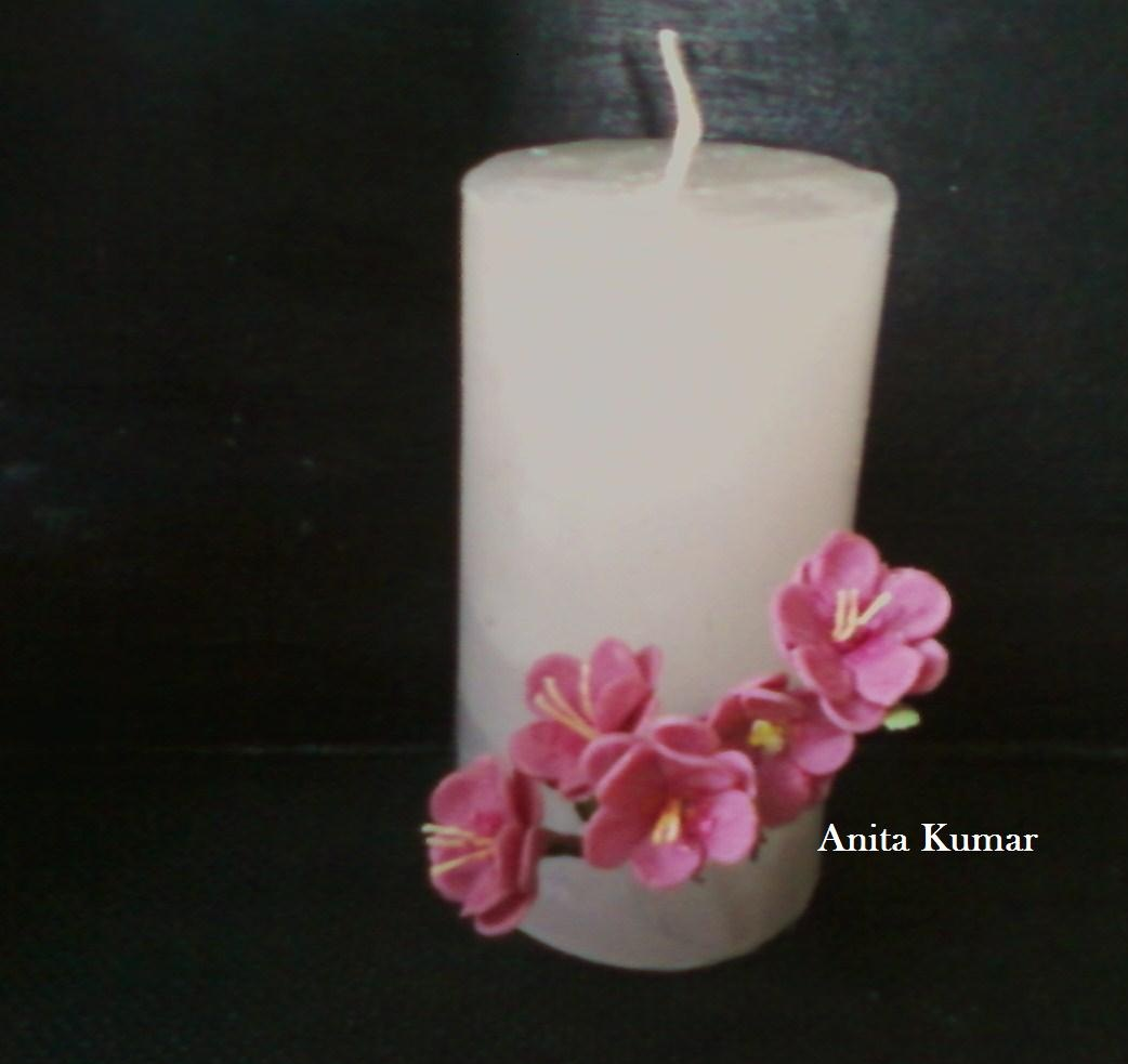 Anitakumarcandlecraft decorative candle for Decoration candles
