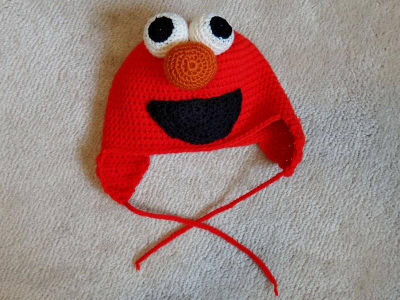 Free Crochet Patterns For Elmo Hat : Grandma Swills Handcrafted Knits: Handmade Crochet Child ...