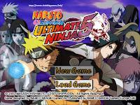 Link Naruto Shippuden Ultimate Ninja 5 ps2 iso clubbit