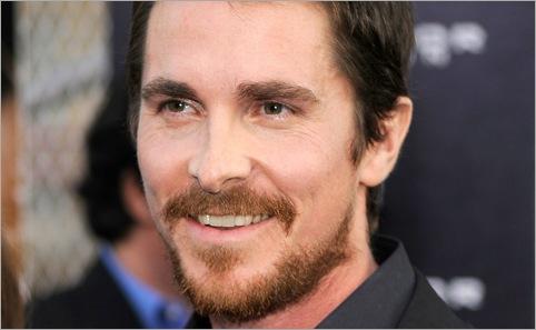 Christian bale beard style